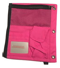 Staples Fold Out Double Sided Storage Pouch for Binders ~ Pi