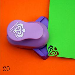 Funny DIY By Hand Scrapbook Embossing Device Hole Punch Hand