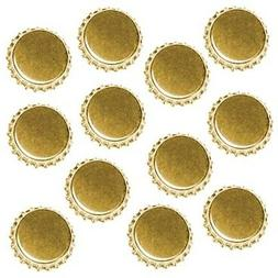 New Gold Crown Bottle Caps Craft Scrapbook Jewelry