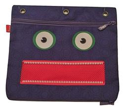 ZipIt Googly 3 Ring Pouch ~ The Scream
