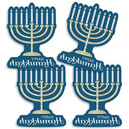 Happy Hanukkah - Menorah Decorations DIY Chanukah Party Esse