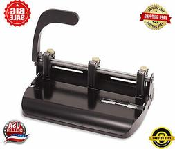 Heavy Duty Adjustable 2-3 Hole Punch with Lever Handle 32-Sh