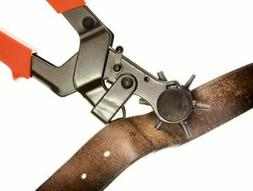 Heavy-Duty Leather Hole Punch Tool, 2.0 - 4.5 mm SE 7924LP