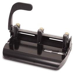 2-3 Hole Punch, Adjustable w/Lever Handle, Punch 32 Sheets,