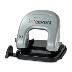 PaperPro inDULGE 40 Two-Hole Punch, Silver/Black  by PaperPr