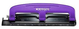 PaperPro inPRESS 12 Reduced Effort 3-Hole Punch, 12 Sheets,