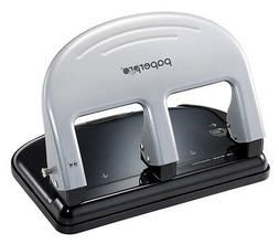 PaperPro inPRESS 40 Three-Hole Punch, Silver  - Pack of 8