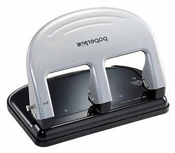 PaperPro inPRESS 40 Three-Hole Punch, Silver  - Pack of 5