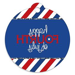 4th of July - Independence Day Party Favor Gift Tags