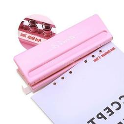 KW-Trio 6-Hole Punch Adjustable A4 A5 A6 B7 Paper Photo Punc