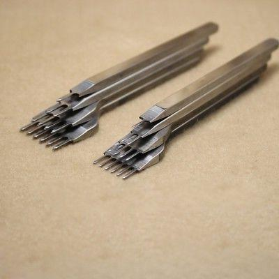 1+2+4+6 Prong Stitching Punch Tool Craft Tool Hole
