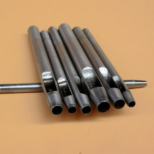 10PCS Home Punch Hand Leather Gasket Tool