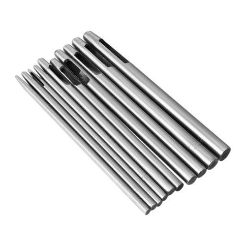 10pcs home steel hollow punch hand hole