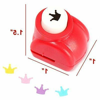 10Pcs Paper Punch Punches Hole Hand Press