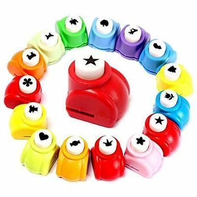 10pcs paper punch scrapbooking punches handmade hole