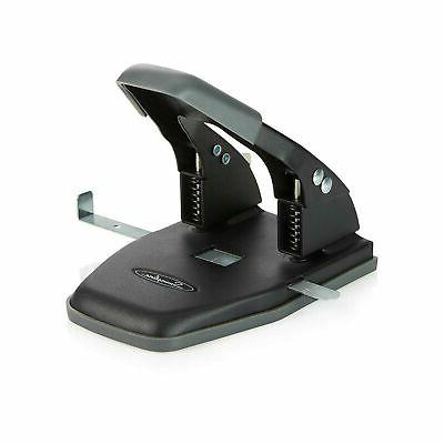 Swingline 2 Hole Punch, Comfort Handle Two Hole Puncher,  28