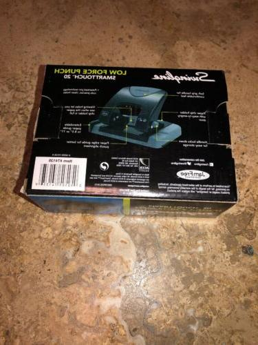 Swingline 2 Hole Punch, Capacity, Low Force.