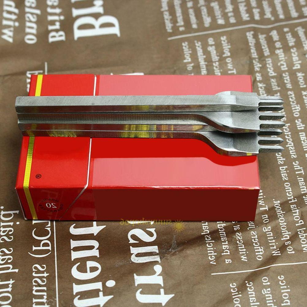 3/4/5/6/mm Leather Hole Tool 1+2+4+6 Prong