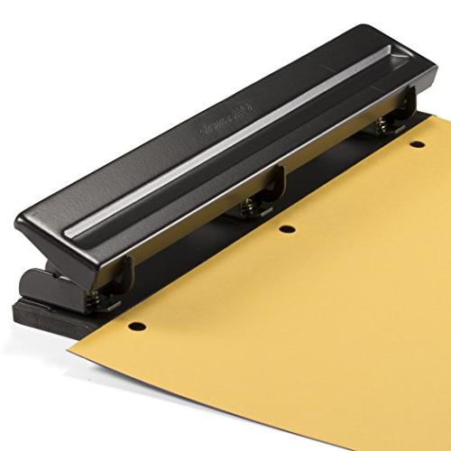 Officemate Hole Punch with 8 Sheet Capacity,