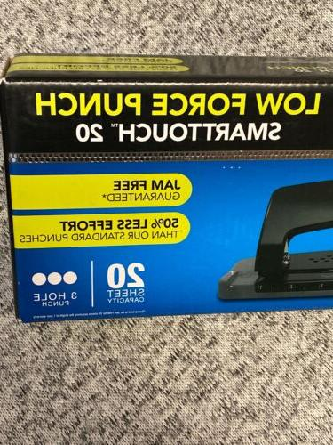 Swingline Hole Smart Touch 20 Punch Capacity, Low NEW!