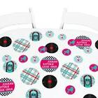 50's Sock Hop - 1950s Party Giant Circle Confetti - Large Co