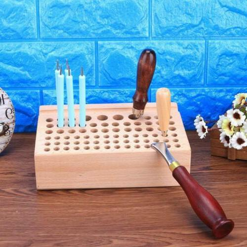76/24 Holes Storage Table Solid Storage Rack Printing
