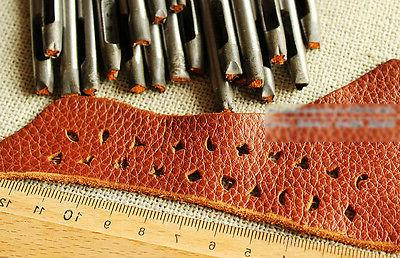 8MM Snape Craftool Leather Hole Punch Belt Cookie