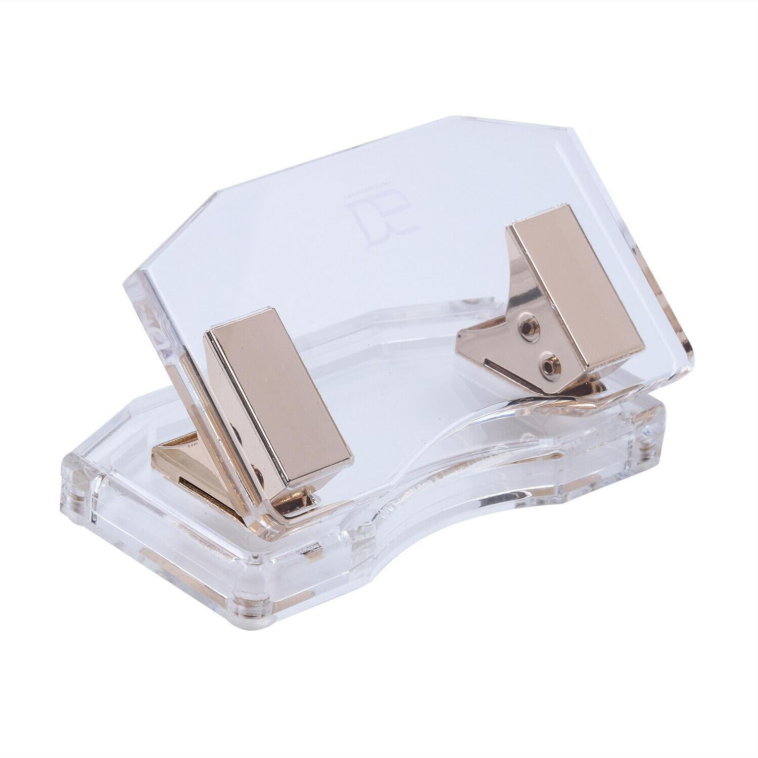 Acrylic Gold Hole Stationery Accessories Series