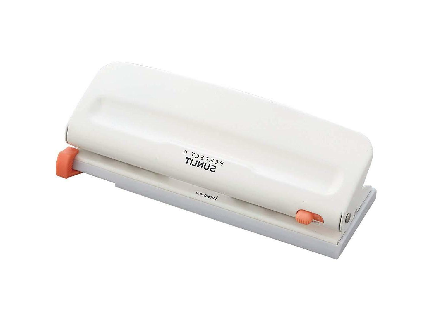 Bair 6 Punch - Desk Paper Perforator for Sheets NEW