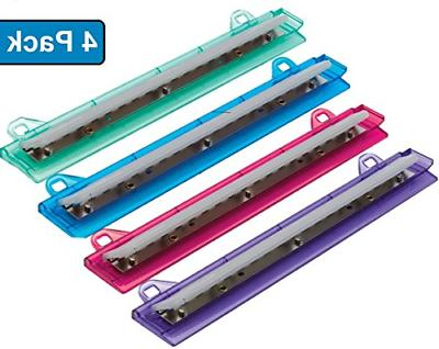 binder 3 hole punch assorted colors 4