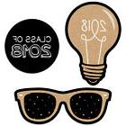 Bright Future - Graduation DIY Shaped Party Cut-Outs - 24 Co