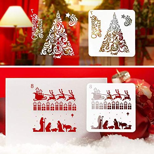 Art Drawing Journaling Snowflake DIY Decoration Window Car Body Wood