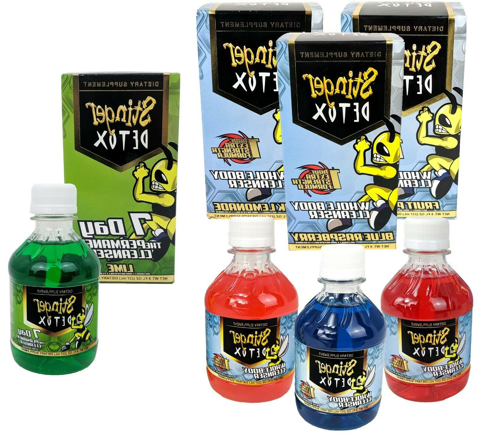 Stinger Detox 1 Hour Body, Day Cleansers, YOU CHOOSE