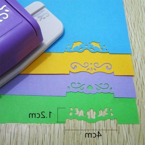 Diy Scrapbooking Decorative Flower Hole Punch Embossing