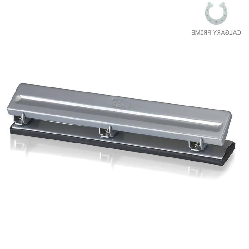 Officemate Economy Hole Punch, 8 Sheet Silver