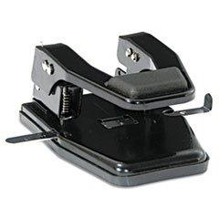 "-- 40-Sheet Heavy-Duty Two-Hole Punch, 9/32"" Holes, Padded H"