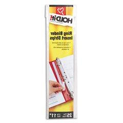 ** HOLDit! Self-Adhesive Multi-Punched Binder Insert Strips,