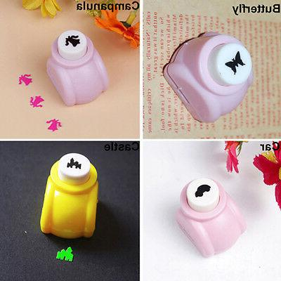 Kid DIY Cards Making Paper Mini Hole Toy Cle