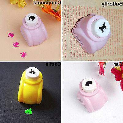 Kid DIY Cards Making Paper Mini Punch Cutter Toy