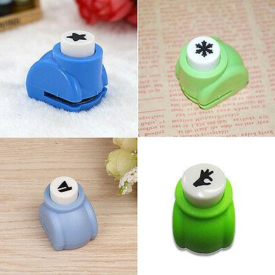 Kid DIY Cards Paper Shaper Mini Punch Toy