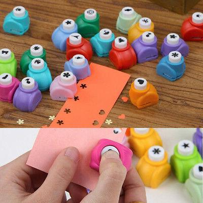 Kid Craft Cards Paper Mini Hole Punch Toy Pre
