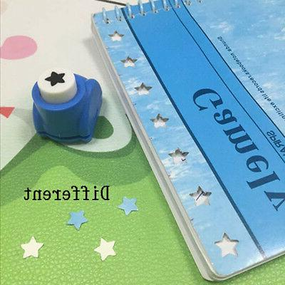 Kid Craft DIY Cards Paper Mini Punch Cutter Toy