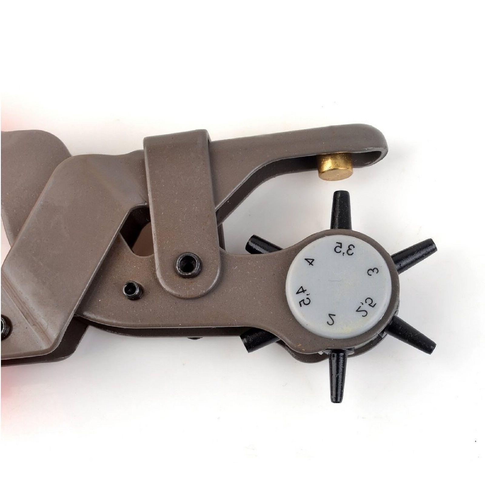 Leather Leather Punch Pliers Belt Holes