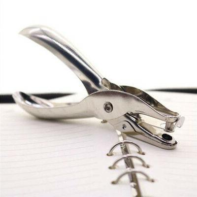 loose leaf hand paper hole puncher office