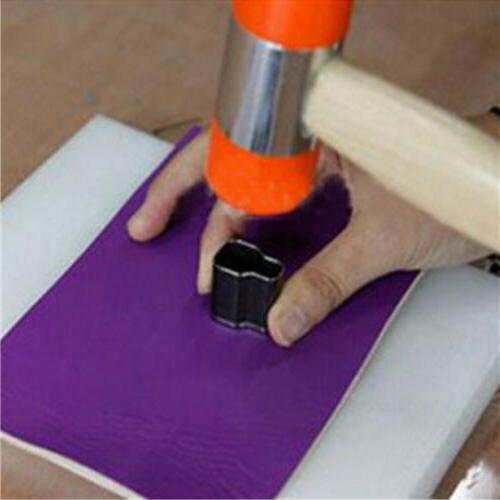 Multi 39 Cuttter Oval Hole Punch Leather Drilling Tool