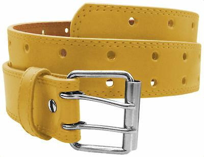 NEW Designer Mens 2 Hole Punch Leather M XL Prong Buckle