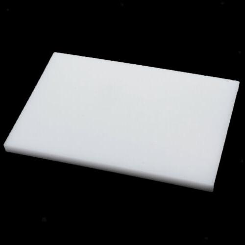 Plastic Cutting Board Punch Tool White 15*10cm