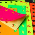New 10 Pieces New Portable Hole Punch Papers Colorful Sticke