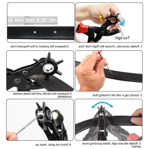 Professional Hole Pliers Holes Punches