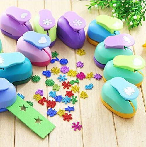 puncher scrapbooking punches shaped hole